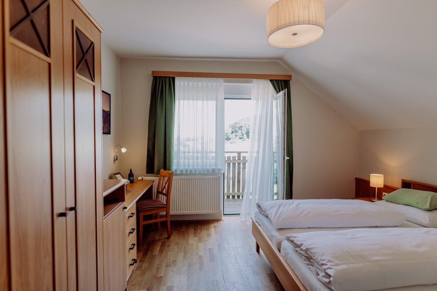 Doppelzimmer mit Balkon - STammhaus