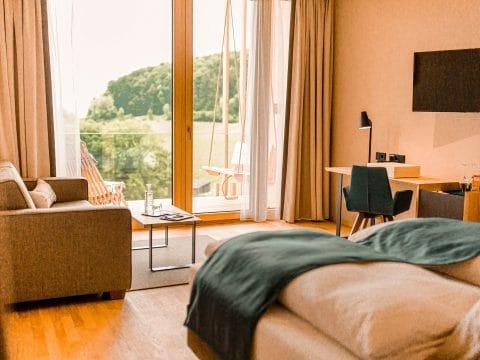 Panoramazimmer deluxe Ratscher Landhaus