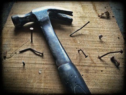 Baustellenhammer